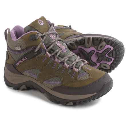 Merrell Salida Mid Hiking Boots - Waterproof (For Women) in Brindle - Closeouts