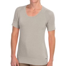 Merrell Salina T-Shirt - Short Sleeve (For Women) in Ash Heather - Closeouts