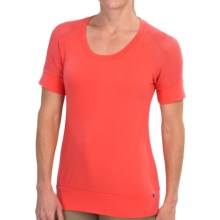 Merrell Salina T-Shirt - Short Sleeve (For Women) in Nectarine - Closeouts