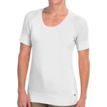 Merrell Salina T-Shirt - Short Sleeve (For Women) in White - Closeouts