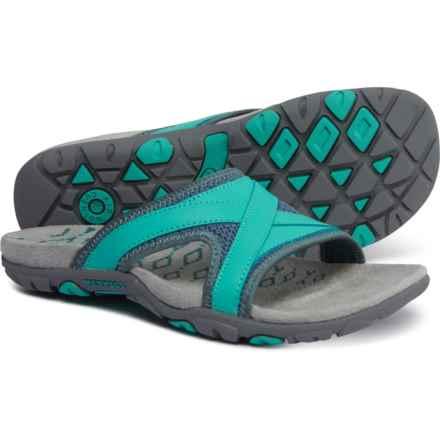 af4552dc52cd Merrell Sandspur Delta Slide Sandals (For Women) in Sea Pine Atlantis