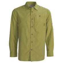 Merrell Sarawak Chambray Shirt - UPF 30+, Roll-Up Long Sleeve (For Men) in Amazon - Closeouts