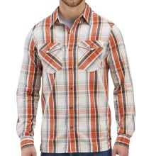 Merrell Sawyer Shirt - Long Sleeve (For Men) in Red Ale - Closeouts