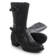 Merrell Shiloh Peak Boots - Leather (For Women) in Black - Closeouts