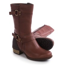 Merrell Shiloh Peak Boots - Leather (For Women) in Chocolate Brown - Closeouts