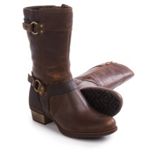 Merrell Shiloh Peak Boots - Leather (For Women) in Oak - Closeouts