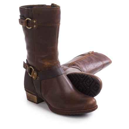 Merrell Shiloh Peak Boots - Leather (For Women) in Oak - Closeouts