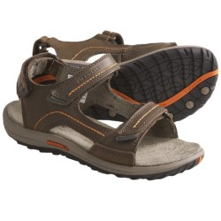 Merrell Sidekick Strap Sandals (For Kids and Youth) in Dark Earth