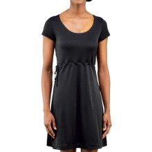 Merrell Siena Cinch Dress - Short Sleeve (For Women) in Black - Closeouts