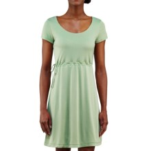 Merrell Siena Cinch Dress - Short Sleeve (For Women) in Thyme - Closeouts