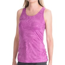 Merrell Siena Cinch Tank Top (For Women) in Iris Print - Closeouts