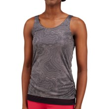 Merrell Siena Cinch Tank Top (For Women) in Shadow Print - Closeouts