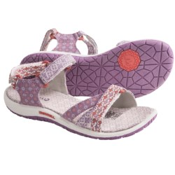 Merrell Sierra Ditto Sandals (For Girls) in Honeysuckle