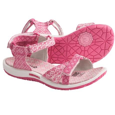 Merrell Sierra Ditto Sandals (For Girls) in Honeysuckle