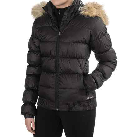 Merrell Silversun Featherless Puffer 2.0 Jacket - Insulated (For Women) in Black - Closeouts