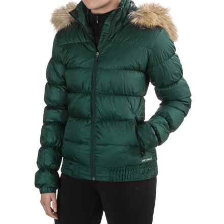 Merrell Silversun Featherless Puffer 2.0 Jacket - Insulated (For Women) in Ponderosa Pine - Closeouts