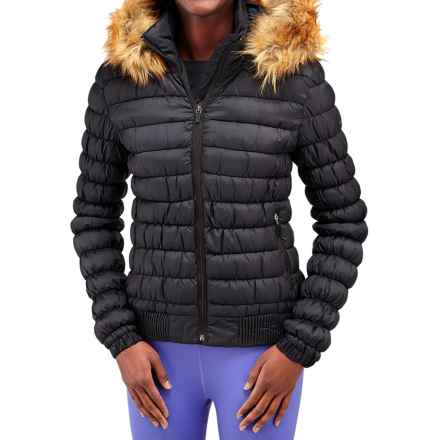 Merrell Silversun Featherless Puffer Jacket - Insulated (For Women) in Black - Closeouts
