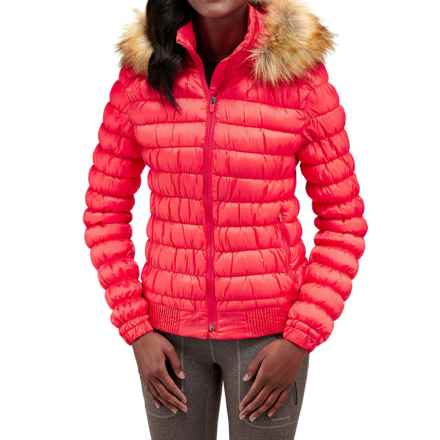 Merrell Silversun Featherless Puffer Jacket - Insulated (For Women) in Cayenne - Closeouts