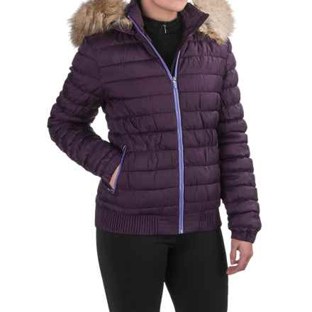 Merrell Silversun Featherless Puffer Jacket - Insulated (For Women) in Wild Plum - Closeouts