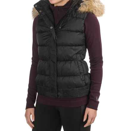 Merrell Silversun Featherless Puffer Vest - Insulated (For Women) in Black - Closeouts