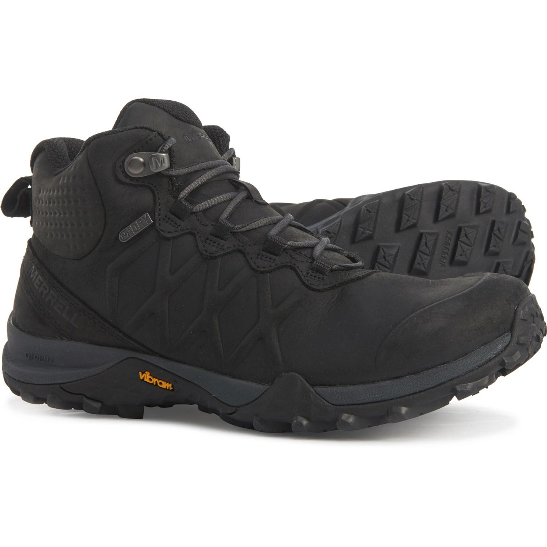 merrell womens hiking boots vibram rub