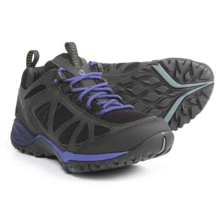 Merrell Siren Sport Q2 Hiking Shoes (For Women) in Black/Liberty - Closeouts