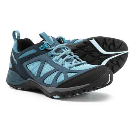 Merrell Siren Sport Q2 Hiking Shoes (For Women) in Blue - Closeouts