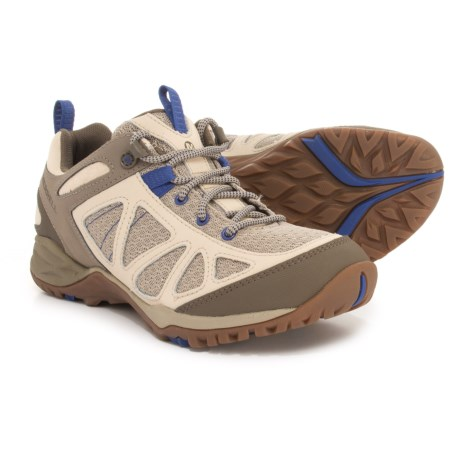 Merrell Siren Sport Q2 Hiking Shoes (For Women) in Oyster Grey