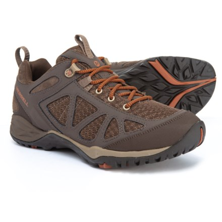 97c0863b5a22a9 Merrell Siren Sport Q2 Hiking Shoes - Leather (For Women) in Slate Black -