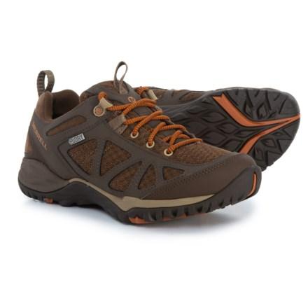 Merrell Siren Sport Q2 Hiking Shoes Waterproof For Women In Slate Black