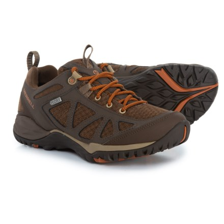 8bc4d375e725 Merrell Siren Sport Q2 Hiking Shoes - Waterproof (For Women) in Slate Black  -