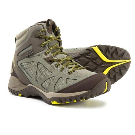 6d99e3ded3 Merrell Siren Sport Q2 Mid Hiking Boots - Waterproof (For Women) in Dusty  Olive