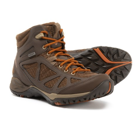 b642becb72207 Merrell Siren Sport Q2 Mid Hiking Boots - Waterproof (For Women) in Slate  Black