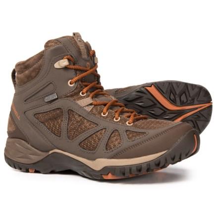 72b005f7e50 Merrell Siren Sport Q2 Mid Hiking Boots - Waterproof (For Women) in Slate  Black