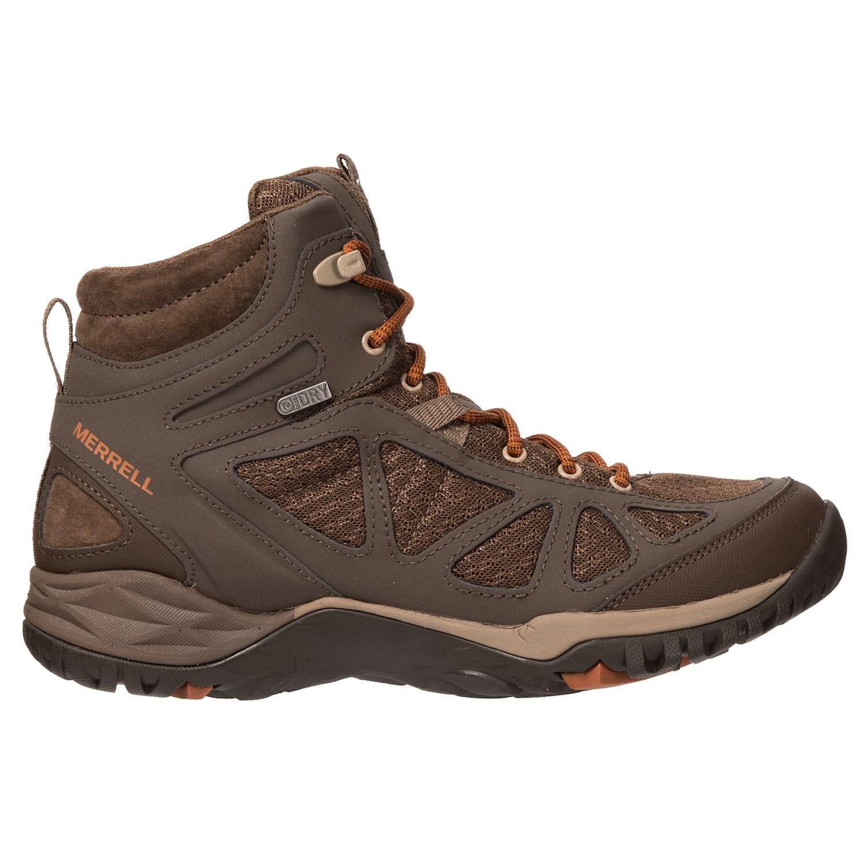9c340efb7c1c 666DP 6 Merrell Siren Sport Q2 Mid Hiking Boots - Waterproof (For Women)