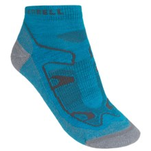 Merrell Siren Sport Socks - Wool Blend, Ankle (For Women) in Open Blue - Closeouts