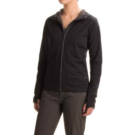 Merrell Skagen Windblocker Hoodie (For Women) in Black - Closeouts
