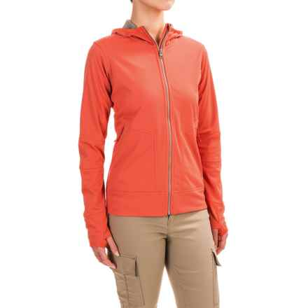 Merrell Skagen Windblocker Hoodie (For Women) in Poppy - Closeouts