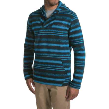 Merrell Skyway Hoodie - Print Fleece (For Men) in Snorkel Blue - Closeouts