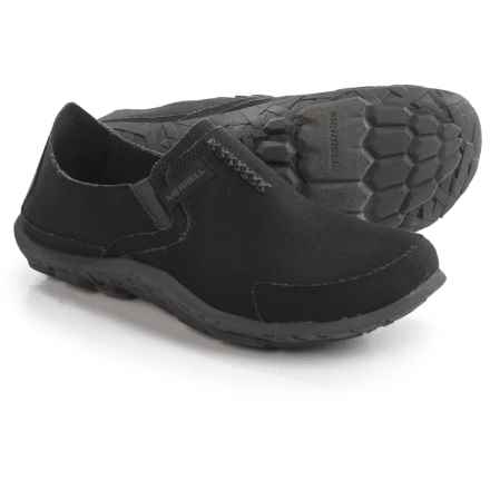 Merrell Slip-On Shoes (For Men) in Black/Navy - Closeouts