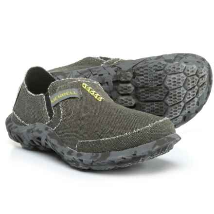 Merrell Slipper Shoes - Slip-Ons (For Boys) in Charcoal - Closeouts
