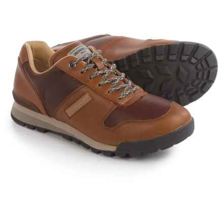 Merrell Solo Luxe Sneakers - Leather (For Men) in Beeswax - Closeouts