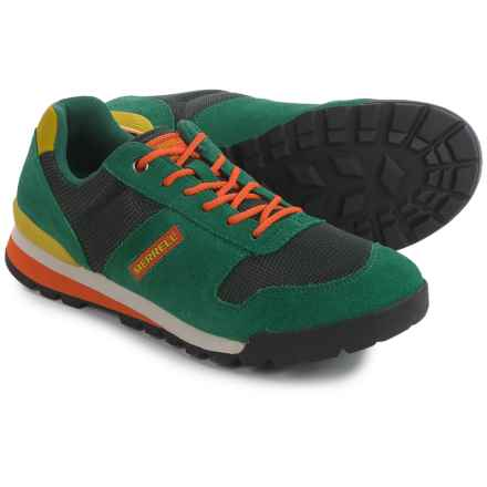 Merrell Solo Sneakers - Suede (For Men) in Green - Closeouts