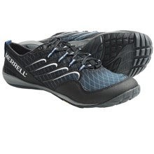 Merrell Sonic Glove Barefoot Trail Running Shoes (For Men) in Black Gradient - Closeouts