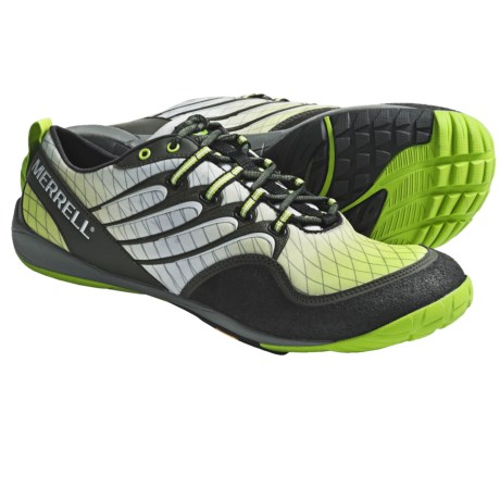 Merrell Sonic Glove Barefoot Trail Running Shoes (For Men) in Kryptonite Gradient