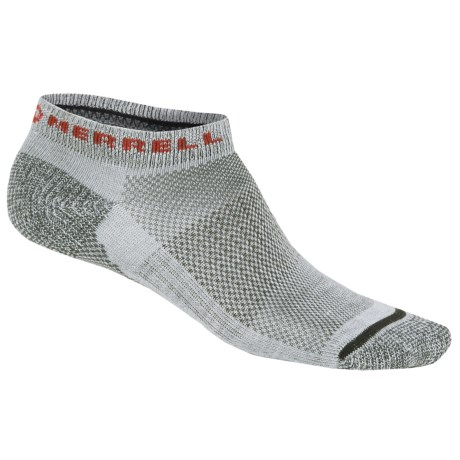 Merrell Sonic Socks - Lightweight, Ankle (For Men) in Light Grey