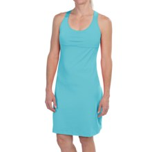Merrell Soto Dress - UPF 30+, Built-In Bra, Sleeveless (For Women) in Pool - Closeouts