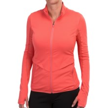 Merrell Soto Stretch Jacket - Full Zip (For Women) in Nectarine - Closeouts