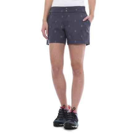 Merrell Sportswear Merrell Afton Shorts (For Women) in Crown Blue Print - Closeouts