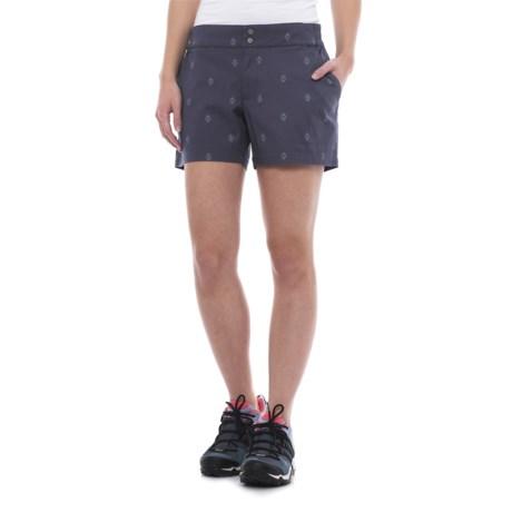 Merrell Sportswear Merrell Afton Shorts (For Women) in Crown Blue Print